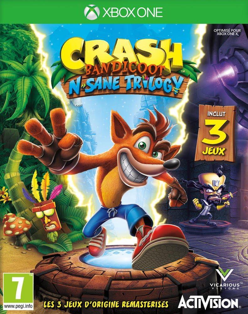Crash Bandicoot N.Sane Trilogy: Amazon.es: Electrónica