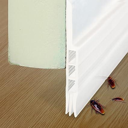 Under Door Seals Under Door Draft Stopper Door Sweep Weather Stripping for Door Bottom Bugs & Under Door Seals Under Door Draft Stopper Door Sweep Weather ...