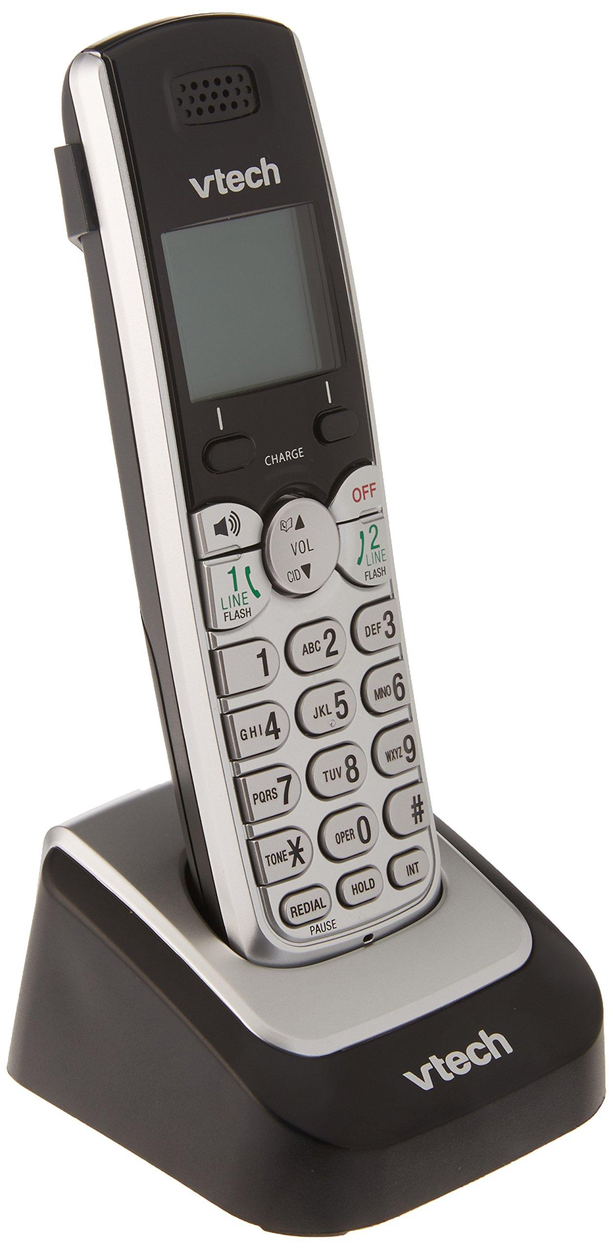 Vtech 2-line Accessory Handset for DS6151 (Cordless Telephones / DECT 6.0 Cordless Phones)