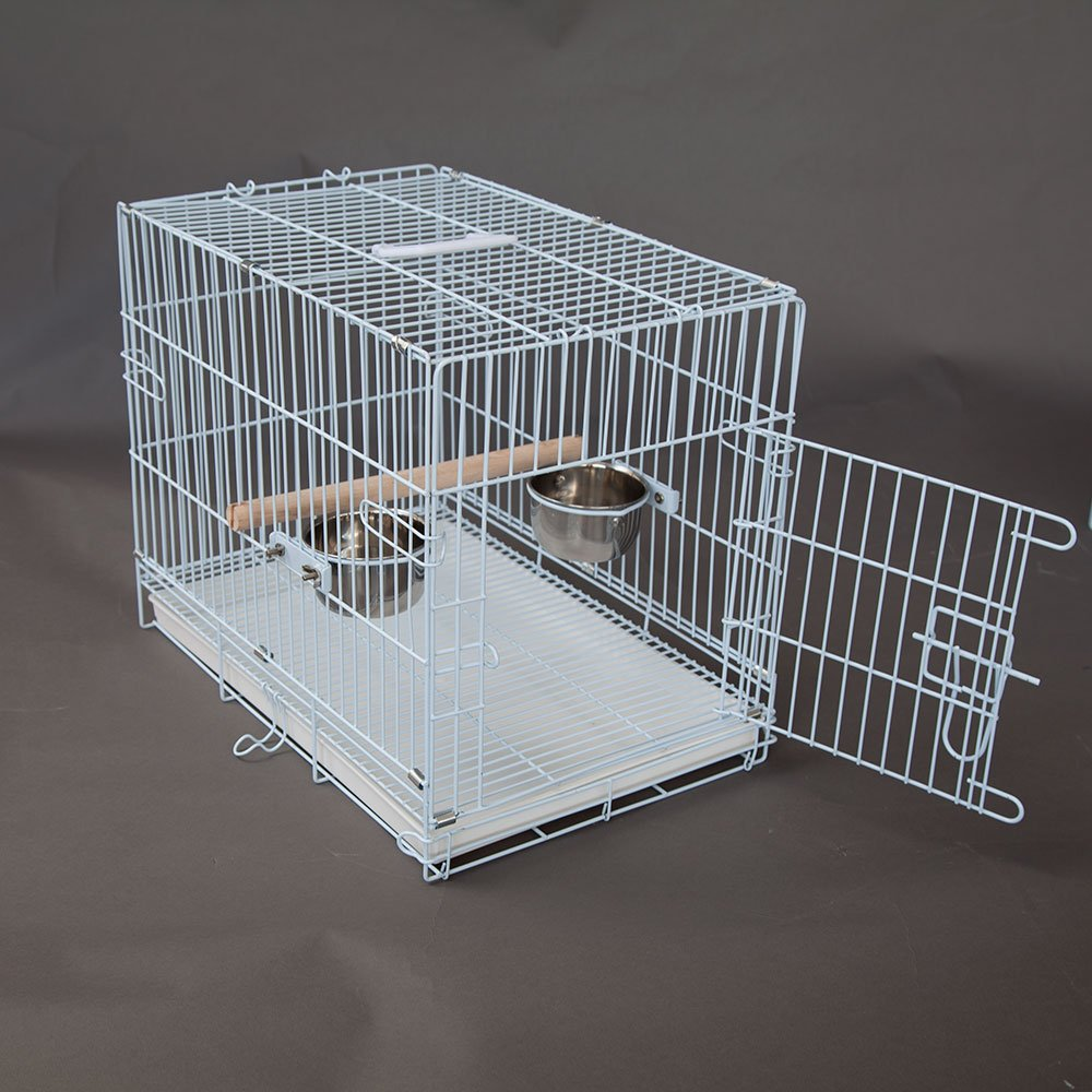 Flyline Collapsible Pet Carrier Bird Cage Travel (Large)