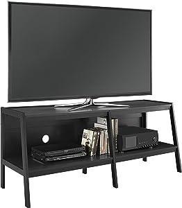 "Ameriwood Home Altra Furniture Ladder Entertainment Center TV Stand, 60"", Black"