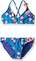 Roxy Little Girls' Tropics Athletic Set Two Piece Swimsuit