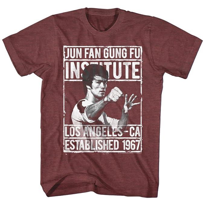 Bruce Lee Los Angeles California Adult T Shirt Martial Arts