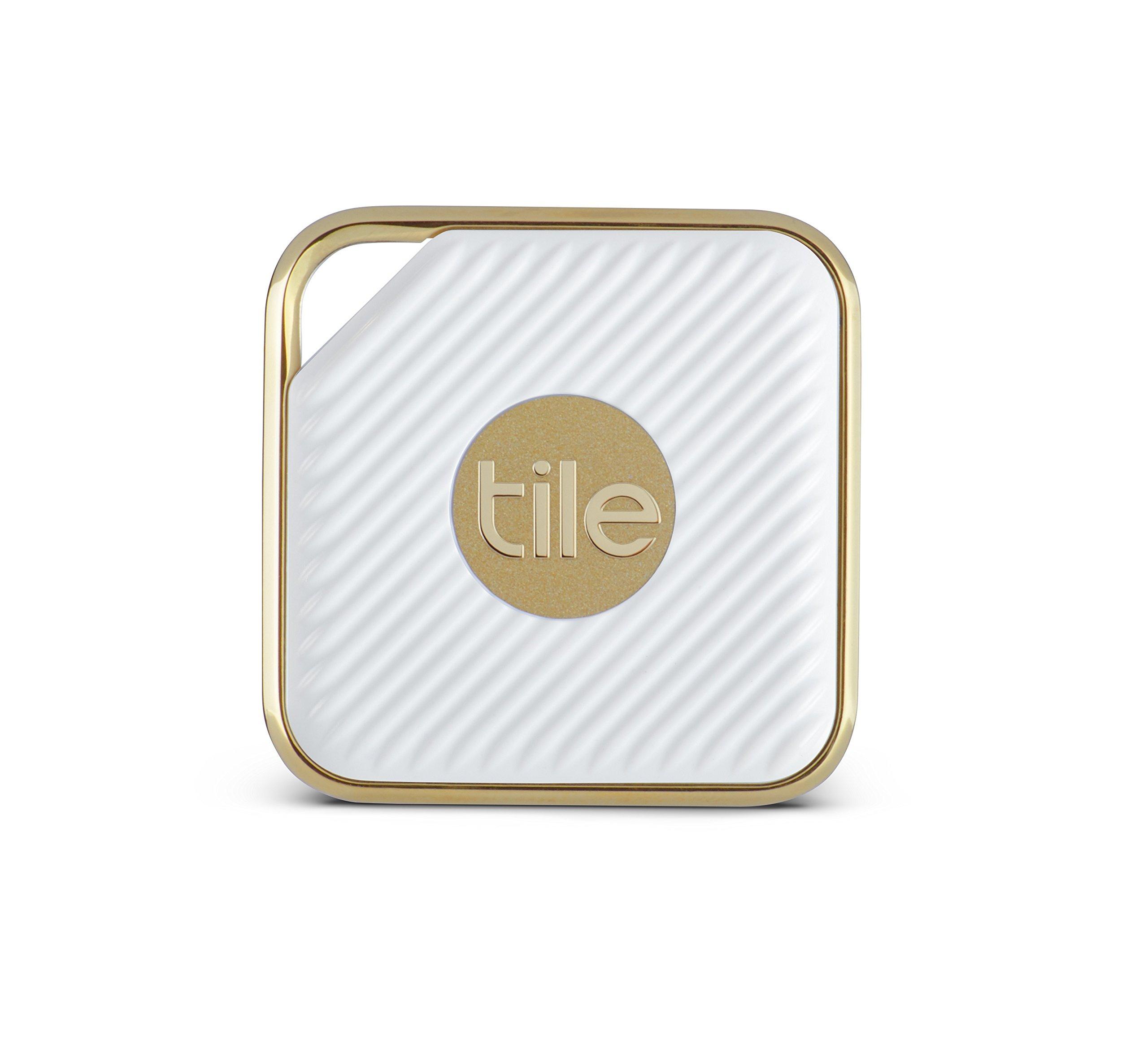 Tile Style - Key Finder. Phone Finder. Anything Finder (Gold) - 2 Pack by Tile