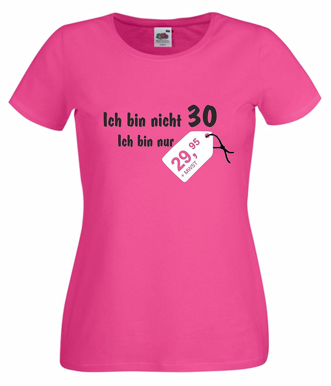 Schön Damen T Shirt Ich Bin Nicht 30