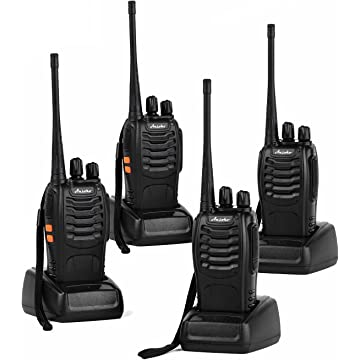 top best Ansoko Long Range Walkie Talkies Rechargeable Two Way Radios FRS/GMRS 16-Channel UHF 2-Way Radio for Adults