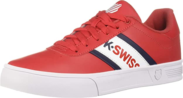 K-Swiss Mens Court LITE SPELLOUT Sneaker: Amazon.es: Zapatos y ...
