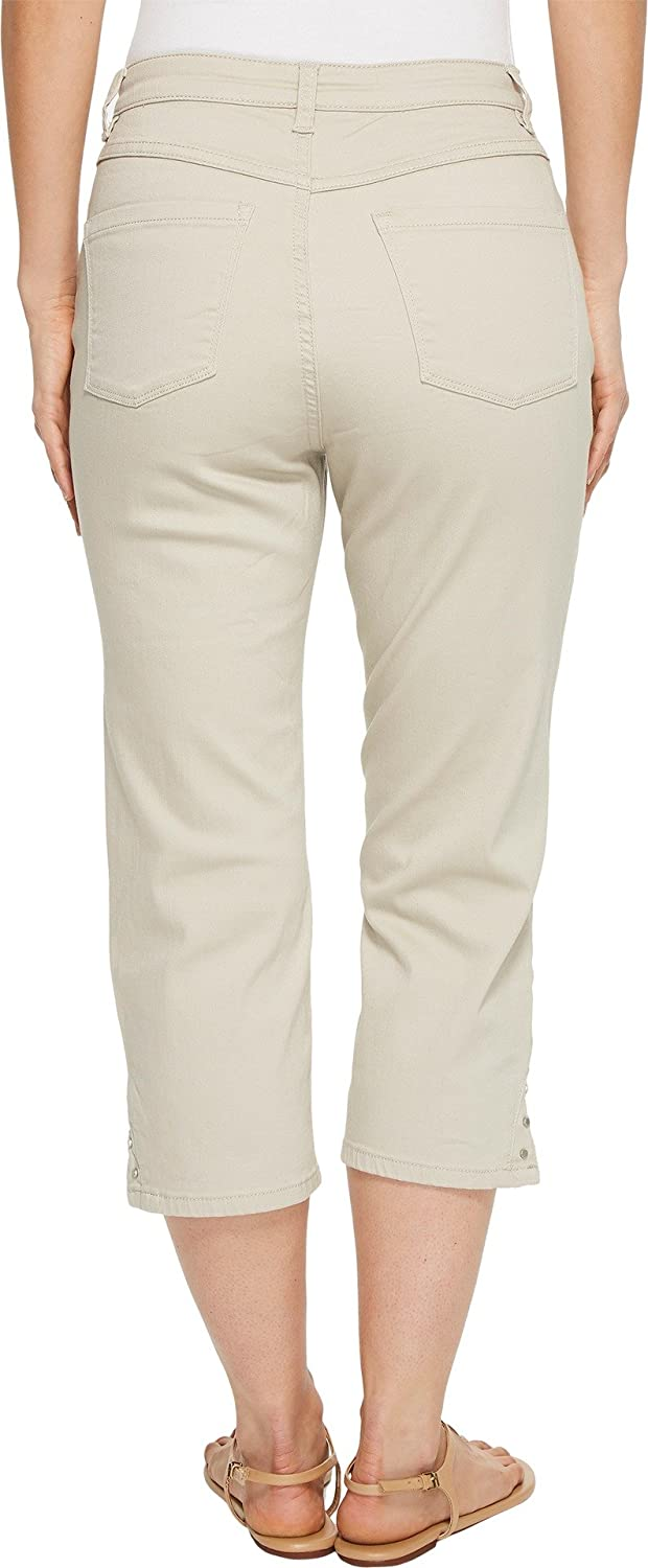 ed9dac2855 FDJ French Dressing Jeans Women s Sunset Hues Suzanne Capris in Stone Stone  18 21 at Amazon Women s Clothing store