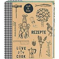 Moses. 80623Cook & Love raccoglitore per ricette, formato A5  con buste trasparenti e registro tasche   per ricette