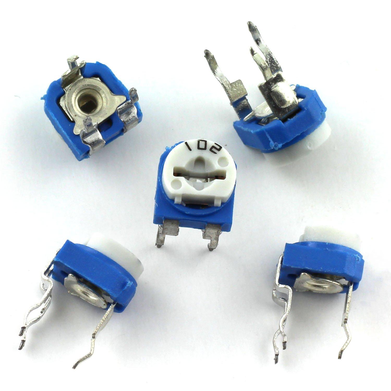 3 x 200K OHM Trimpot Variable Resistor 6mm