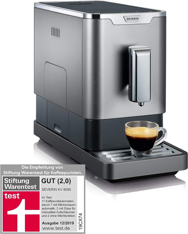 SEVERIN KV 8090 Superautomática con Molinillo para granos de café ...