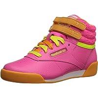 Reebok Freestyle High Classic Shoe (Little Kid/Big Kid)