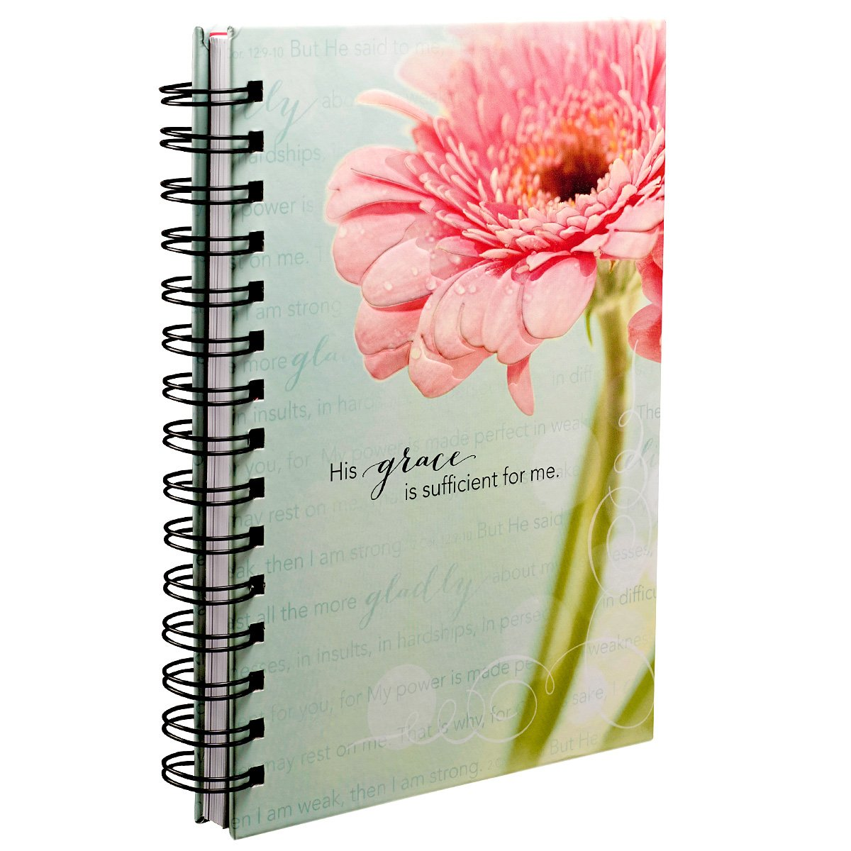 Grace Sufficient Hardcover Wirebound Journal