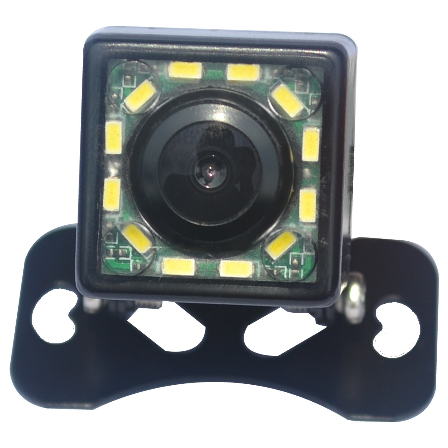 Homelink Night Vision HD 12 LED Waterproof CCD Vehicle Car Rear View Backup Camera Wide Angle Rearview CMOS Camera
