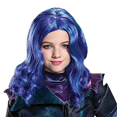 Disguise Descendants 3 Mal Wig Costume Accessory: Toys & Games