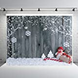 Amazon Price History for:7x5ft Christmas Photography Backdrop Vinyl Wood Wall Photo Studio Background Props Bokeh Winter Theme Backdrops for Photography