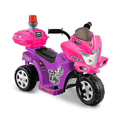 Amazon.com: Kidz motorz, 6 V Lil Patrol Ride On Color Rosa y ...