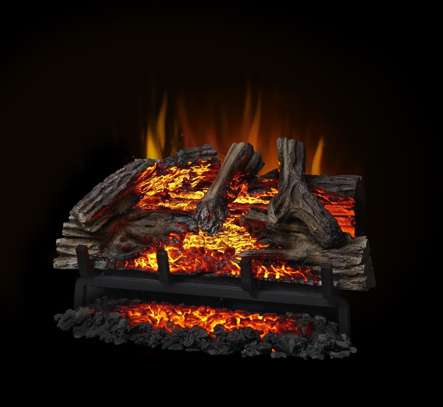 Amazon.com: Napoleon Woodland Electric Fireplace Log Set: Home & Kitchen