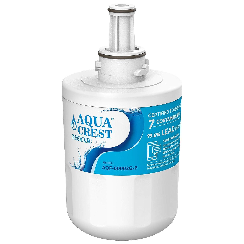 AQUACREST DA29-00003G Refrigerator Water Filter, NSF 53&42 Certified to Reduce 99% of Lead, Cyst & More, Compatible with Samsung DA29-00003G, DA29-00003B, DA29-00003A, Aqua-Pure Plus, HAFCU1