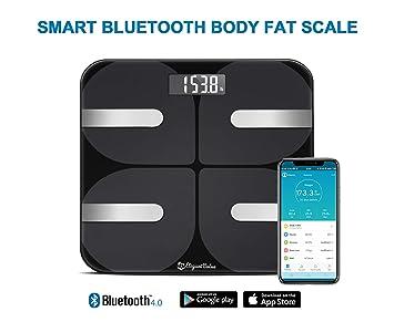 Amazon com: Smart Body Fat Scale Digital – 18 Measurements