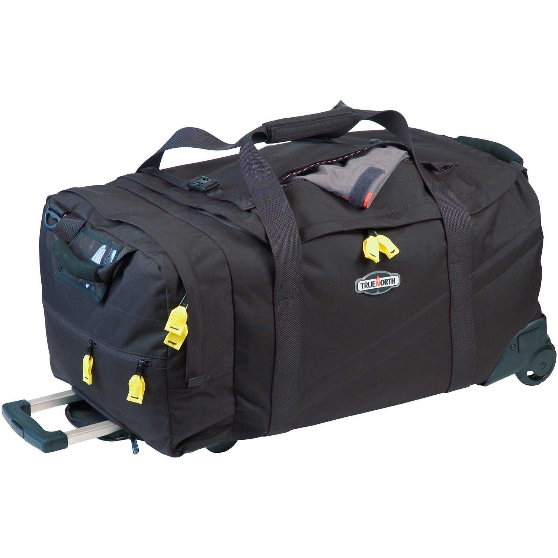 Travel Bag, Black, Ballistic Nylon, Metal