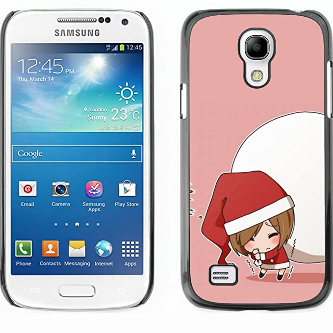 Carcasa rígida funda para Samsung Galaxy S4 Mini - Navidad ...