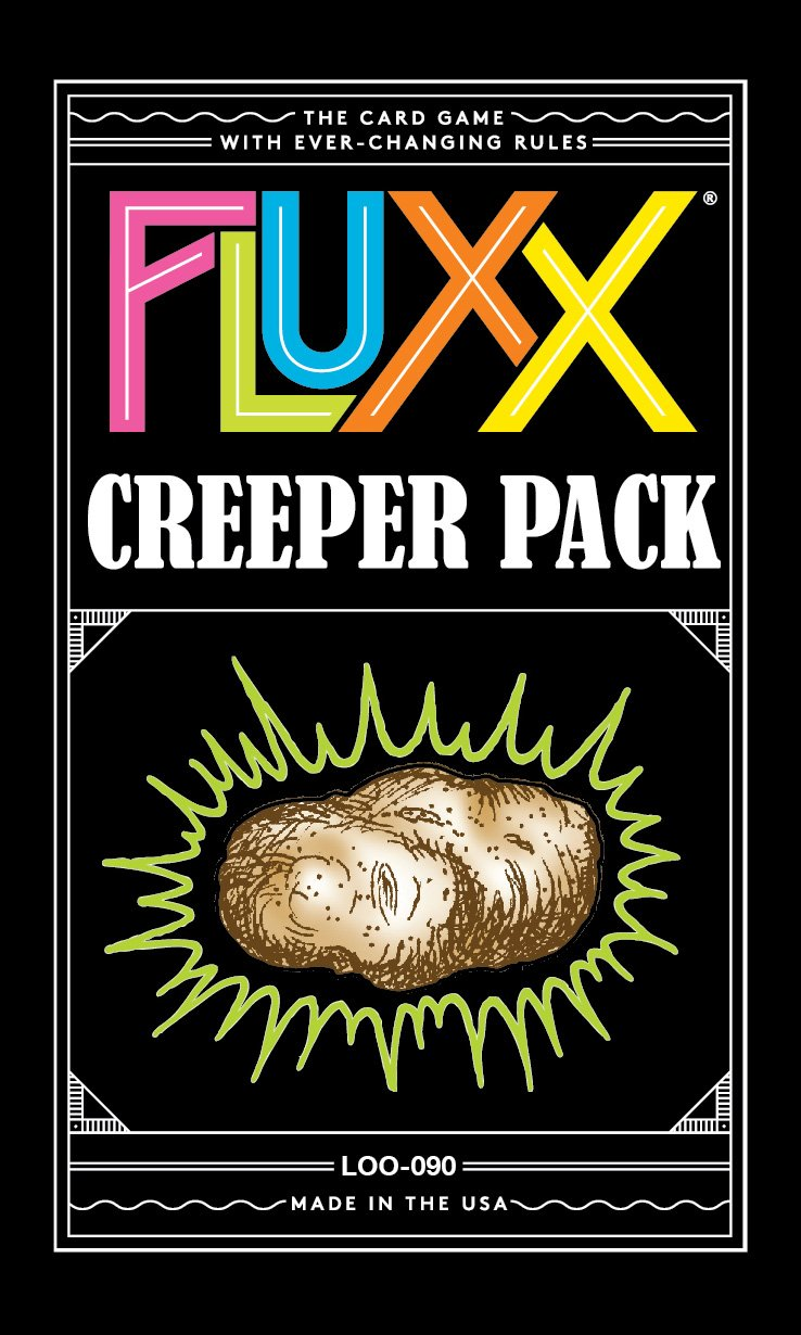 Looney Labs LON00090 Fluxx Creeper Pack, Multicolore Pegasus Spiele LOO-090