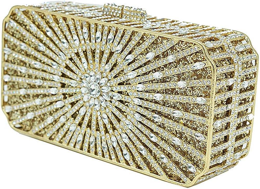 RICHARD BALDWIN Bridal Bag Rose Evening Bag Crystal Bag Dinner Clutch Bag