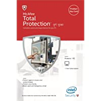 McAfee Total Protection - 1 PC, 1 Year (Activation Key Card)