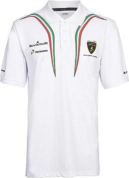 Automobili Lamborghini Sportscar Tricolor Shortleeve - Polo ...