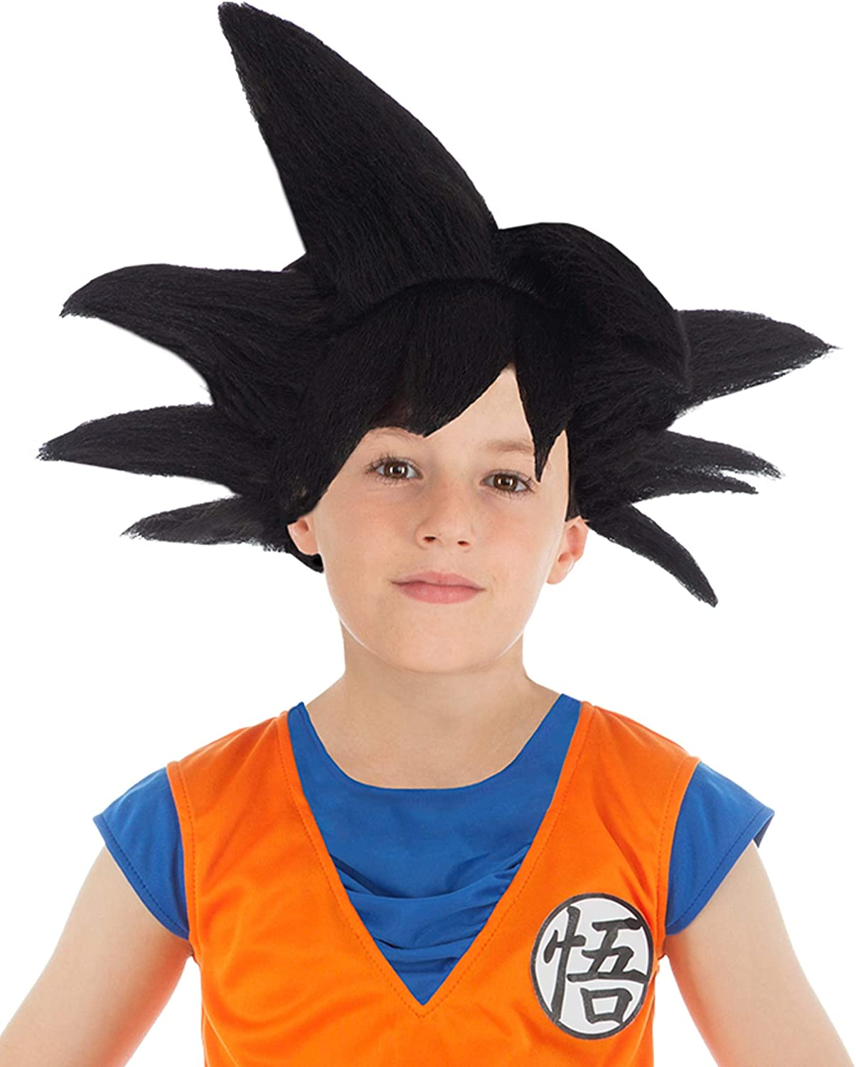 Generique - Peluca Negra Goku Saiyajin Dragon Ball Z niño: Amazon ...