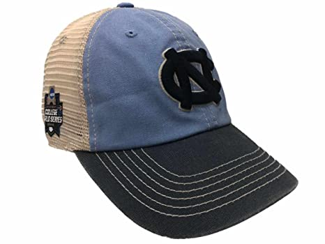 hot sale online dc0bf 07408 Image Unavailable. Image not available for. Color  North Carolina Tar Heels  2018 College World Series CWS Mesh Adj Relax Hat Cap