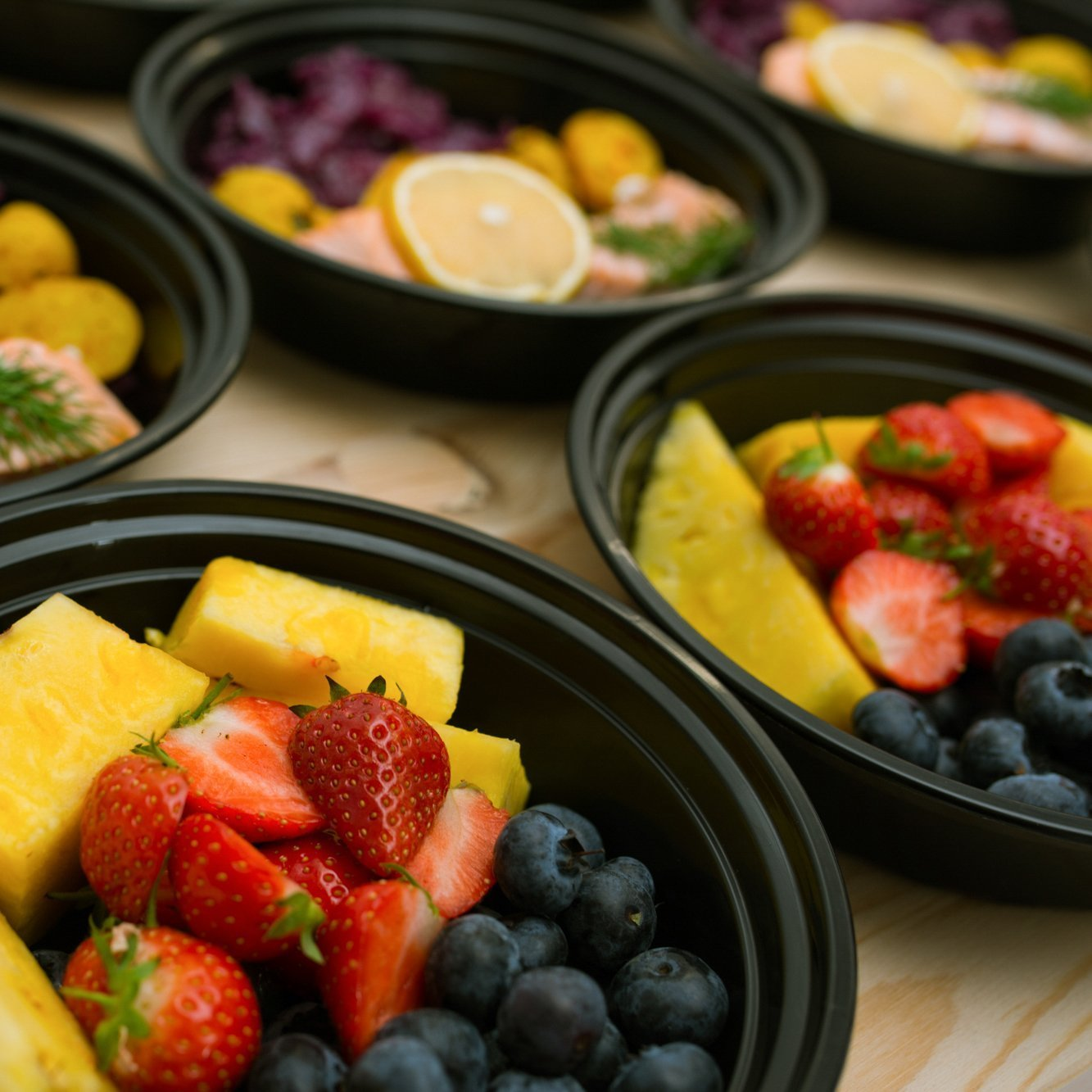 30 Meal Prep Containers Reusable - Disposable Food Containers Meal Prep Bowls - Plastic Containers with lids - Plastic Food Storage Containers with Lids - Lunch Containers for adults to go Containers by Prep Naturals (Image #2)