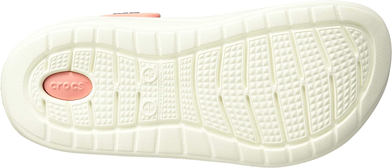 Crocs Sabots Marine//Melon Mixte Adulte