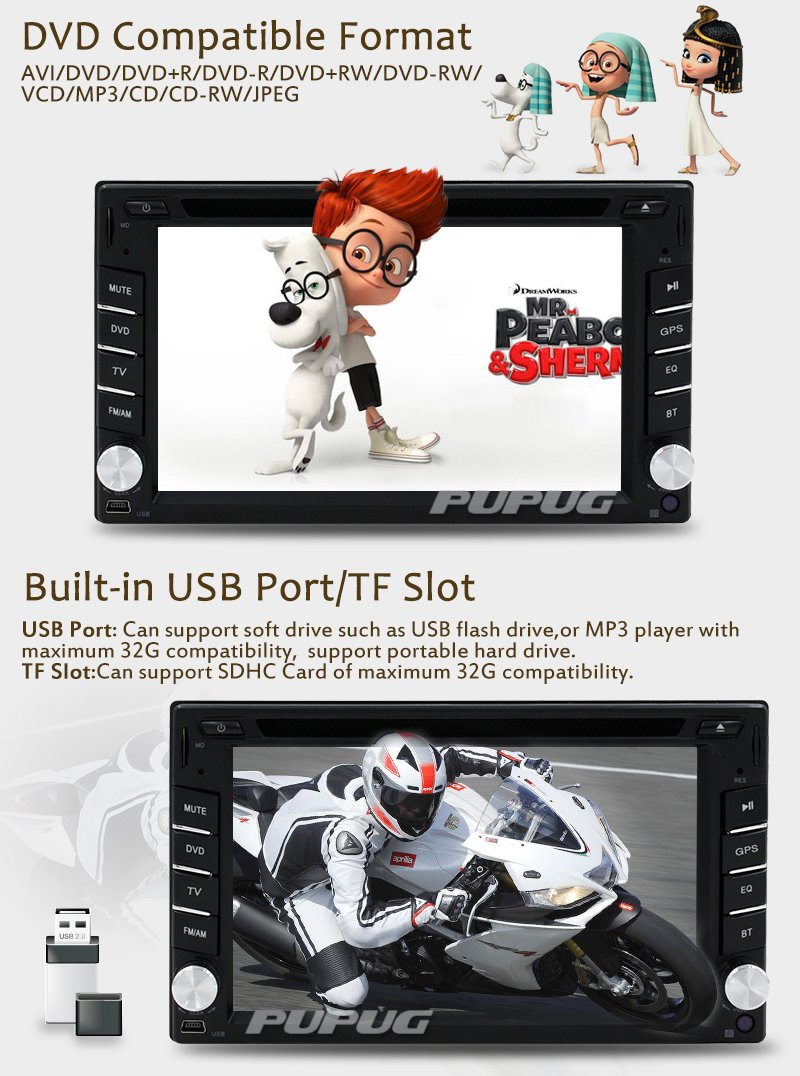 Wireless Backup Camera Included62 Inch Double Din Car Wiring Also Diagram Of Stereo Harness Radio Gps Navigation In Dash Vehicle Dvd Player Touch Screen Autoradio With Bluetooth