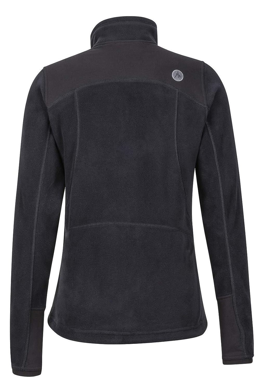 Wind Resistant Marmot Flashpoint Womens Fleece Jacket Full Zip Outdoor Jacket Breathable