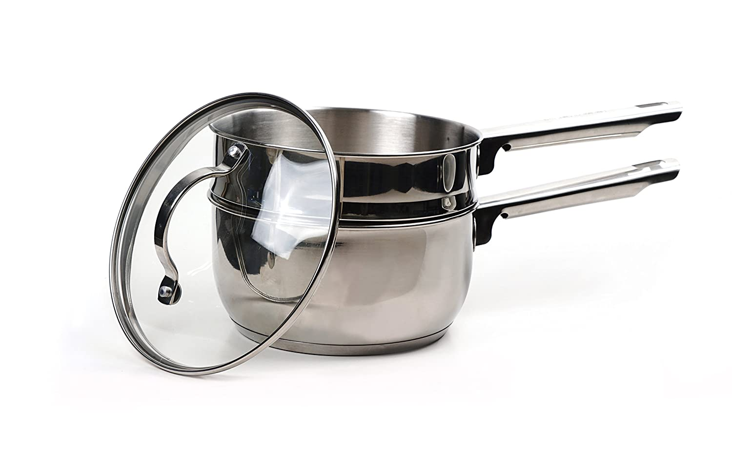 RSVP Endurance 2-Quart Stainless Steel Induction Double Boiler TDB 2IN