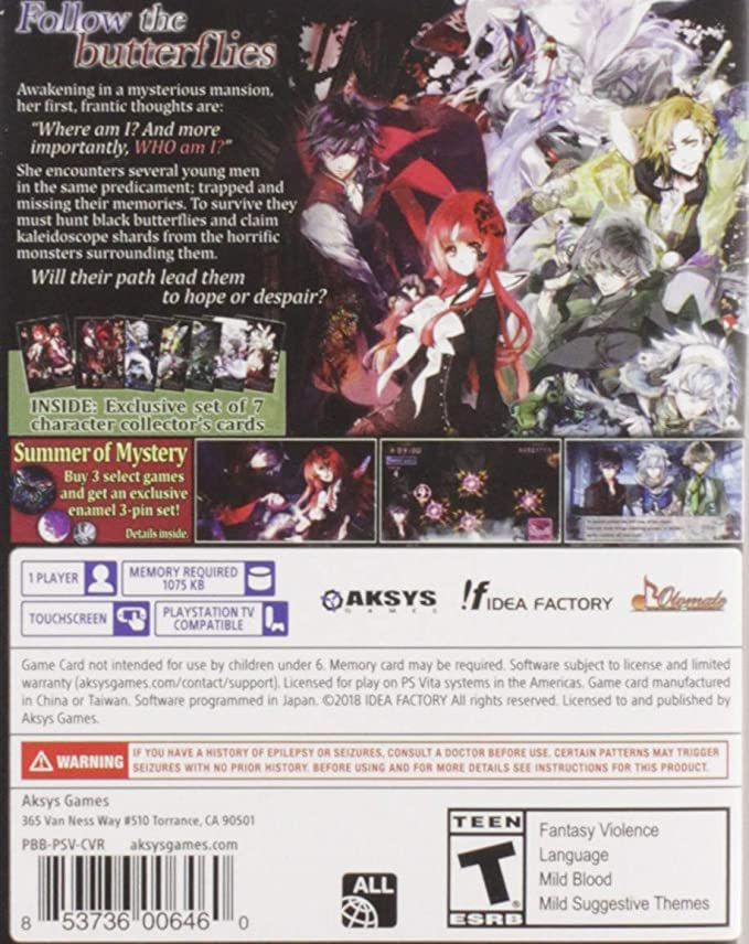 Amazon com: Psychedelica of The Black Butterfly