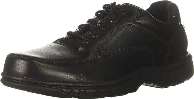 Rockport Men's Eureka Walking Shoe, Black, 6.5 2E US