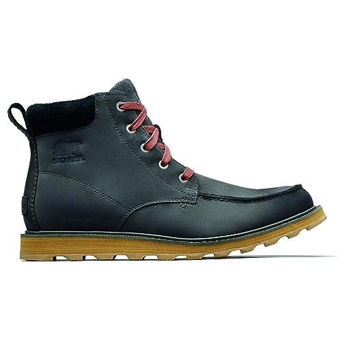 34acd94feea Sorel Men s Madson Moc Toe Waterproof Boot  Amazon.co.uk  Shoes   Bags