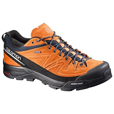 Mens X Alp Leather Gore-Tex Trail Running Shoes - SS17 - 8.5 - Black