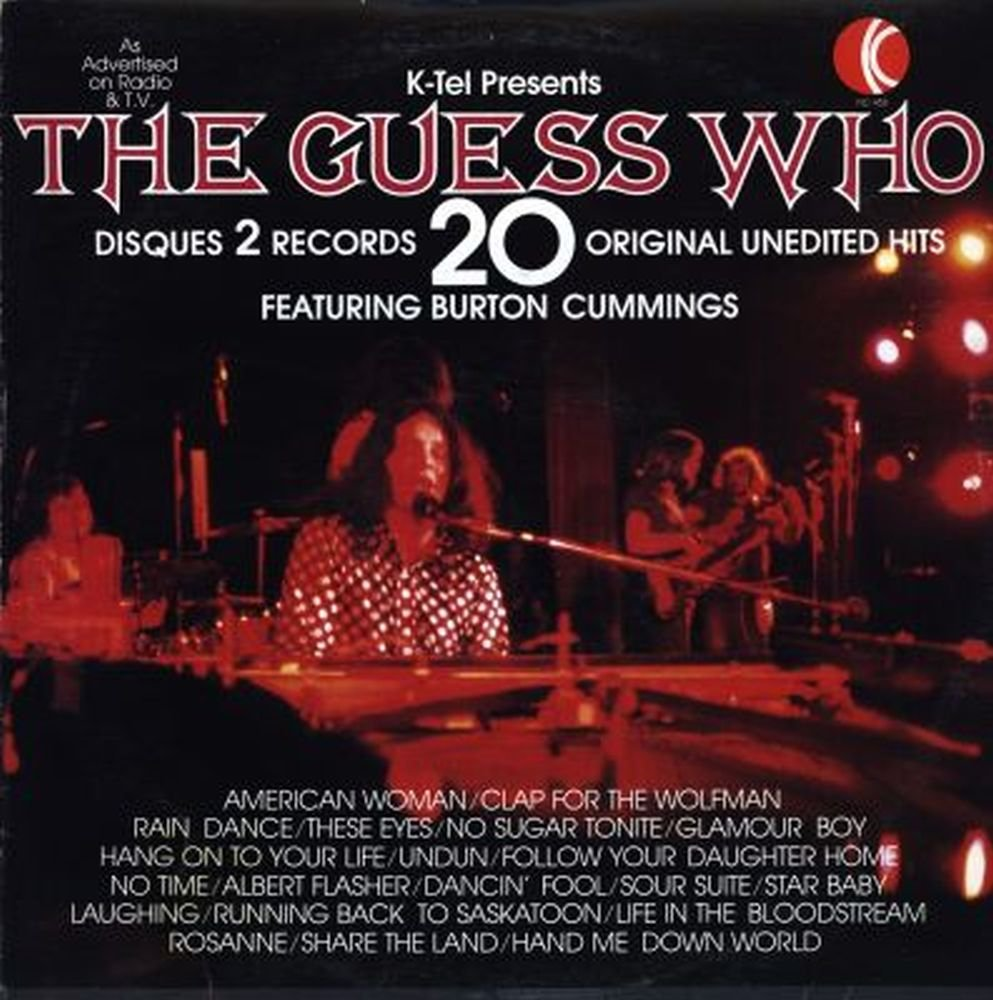 The Guess Who The Guess Who 20 Greatest Hits Lp Amazon Com Music