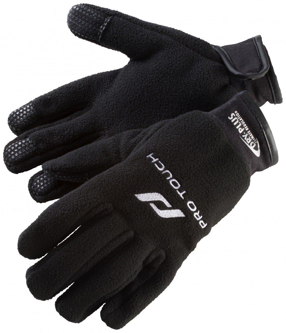 Pro Touch Handschuhe leichte Fußballhandschuhe black Laufhandschuhe