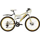 """KS Cycling Bliss VTT tout suspendu Blanc 26"""" 47 cm"""