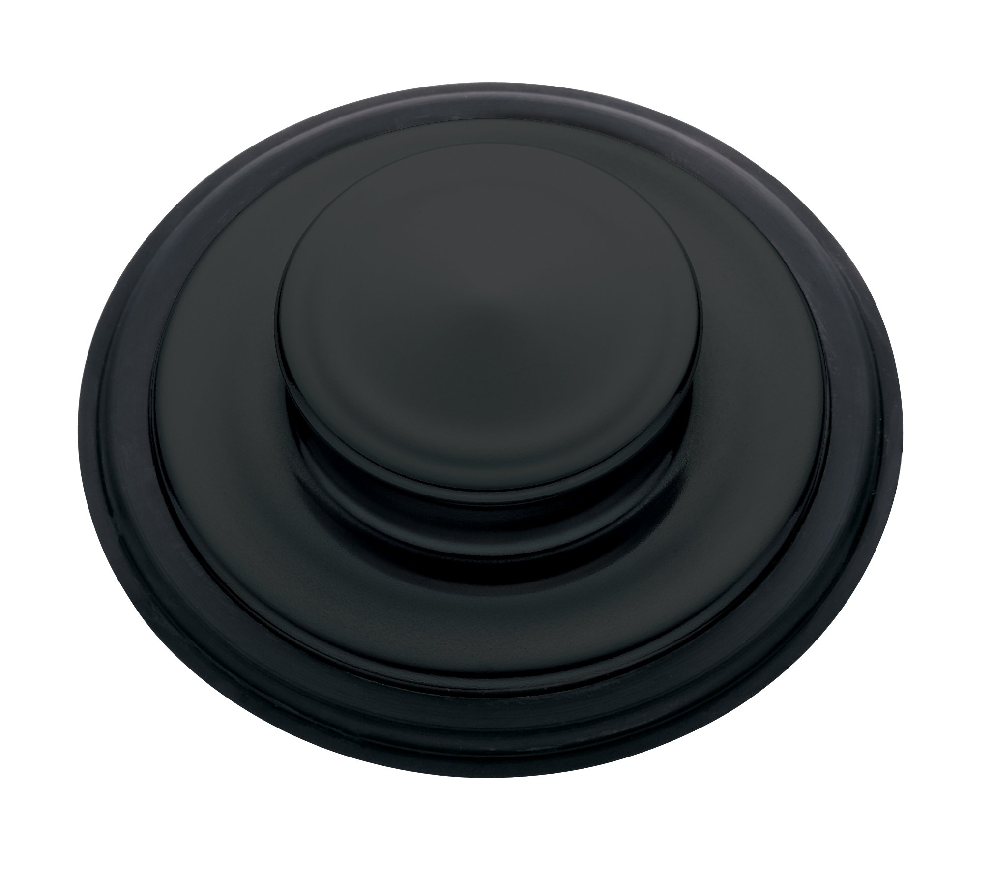 InSinkErator  STP-MTBLK Sink Stopper for Garbage Disposals, Matte Black by InSinkErator