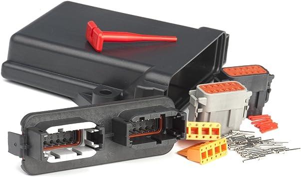 Amazon.com: Deutsch DTM 24 Contact PCB Circuit Board Enclosure Kit ...