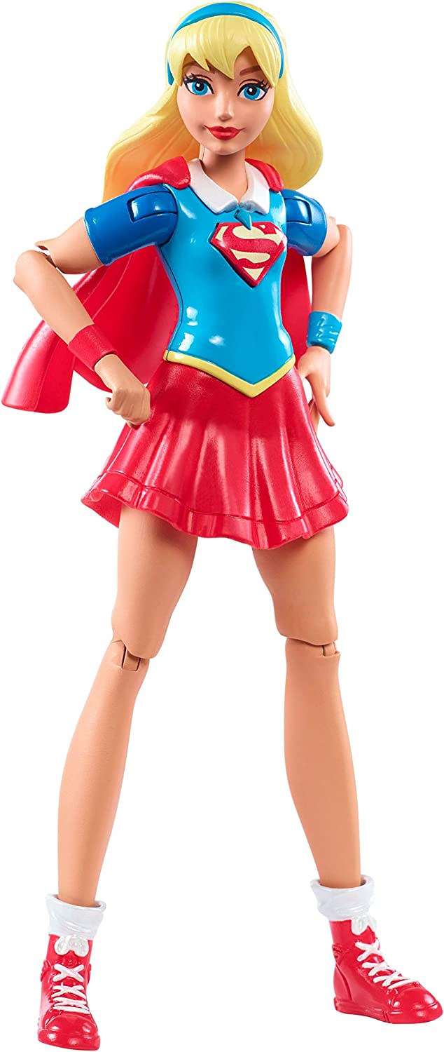 DC Super Hero Girls Muñeca SúperGirl (Mattel DMM34): Amazon.es ...