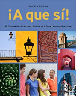 Amazon a que si world languages 9781111837945 m victoria a que si sam cuaderno answer key for garcia serranode la torre fandeluxe Images