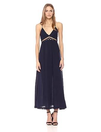 b202d6483859 MOON RIVER Women s Sleeveless Lace Flowy Maxi Dress at Amazon ...
