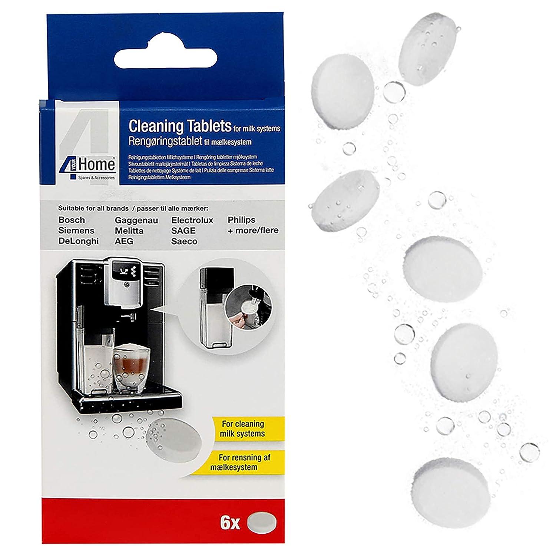 Qualtex - Pastillas de limpieza para máquinas de café DeLonghi, 6 ...